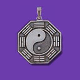 Small bagua pendant